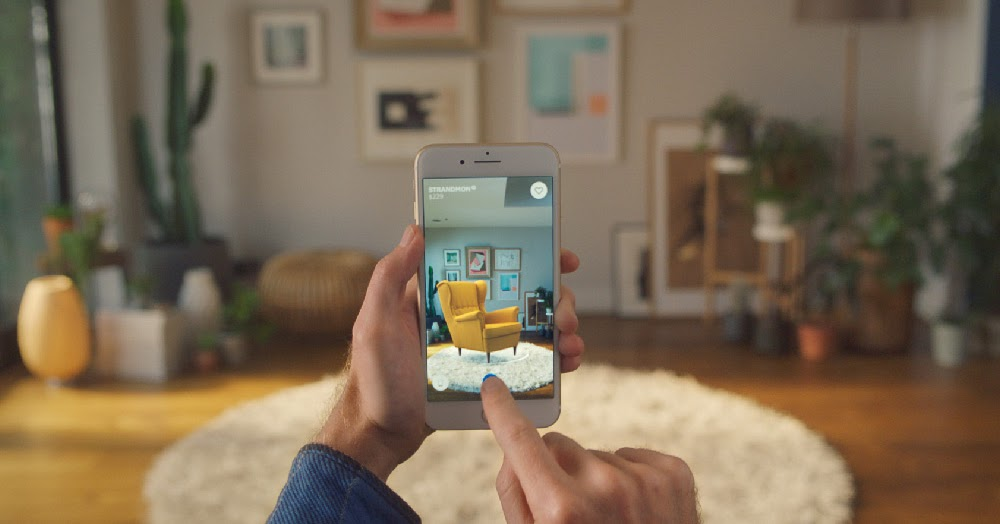 Ikea presenta la nuova app ikea place blog di for App arredamento
