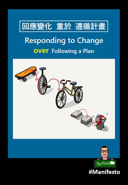 回應變化重於遵循計畫