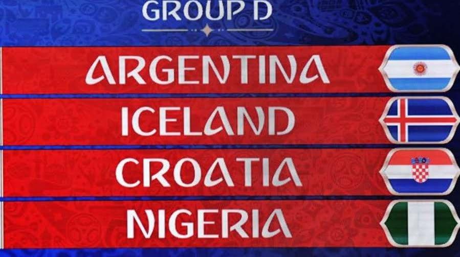 Russia 2018: le partite del Gruppo D con Argentina Islanda Croazia Nigeria | Mondiali di Calcio