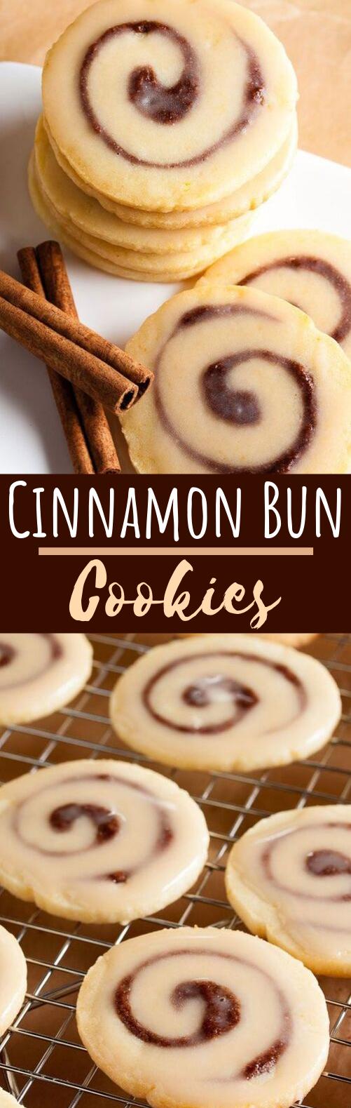Cinnamon Bun Cookies #cookies #desserts