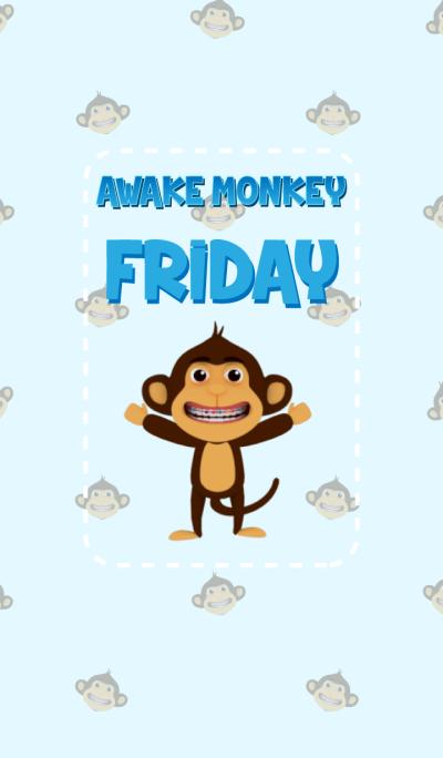 Awake Monkey Friday