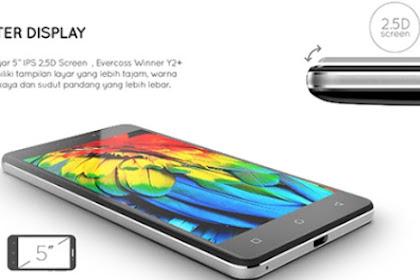 Android Harga 1 Juta, Evercross Winner Y2+ Power Tawarkan Baterai 4350 mAh