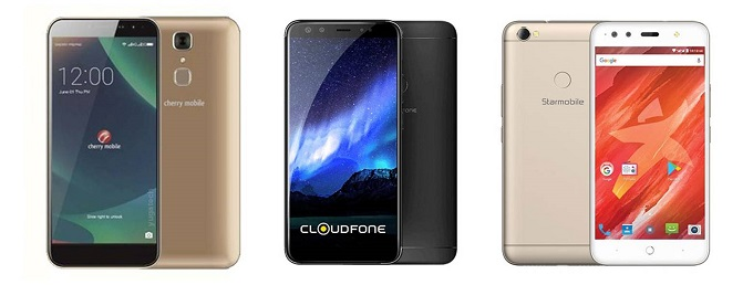 Cherry Mobile Flare S6 Deluxe vs Cloudfone Next Infinity vs Starmobile Up Selfie