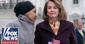 Shock as Pelosi embracing anti-semite Ilhan Omar who compared thw US to Taliban & Hamas