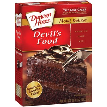 devil s food cake mix product reviews canada duncan hines s food cake 3510
