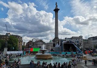 Londres, Trafalgar Square.