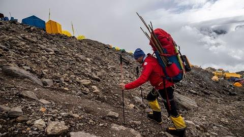 Himalája-expedíciók - Lengyel Ferenc jól halad, Varga Csaba az alaptáborban vesztegel