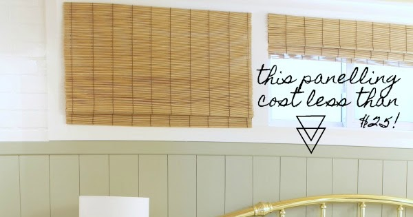 How to Make Vertical Shiplap Paneling (on the cheap