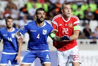 Ήττα και διασυρμός της Κύπρου από την Ρωσία με 0-5