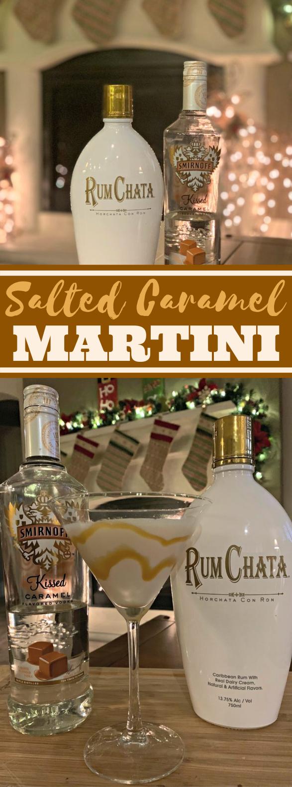 Salted Caramel Martini #drinks #alcohol #christmas #cocktails #beverages