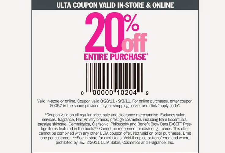 Free ulta coupons - City sights new york promotional code