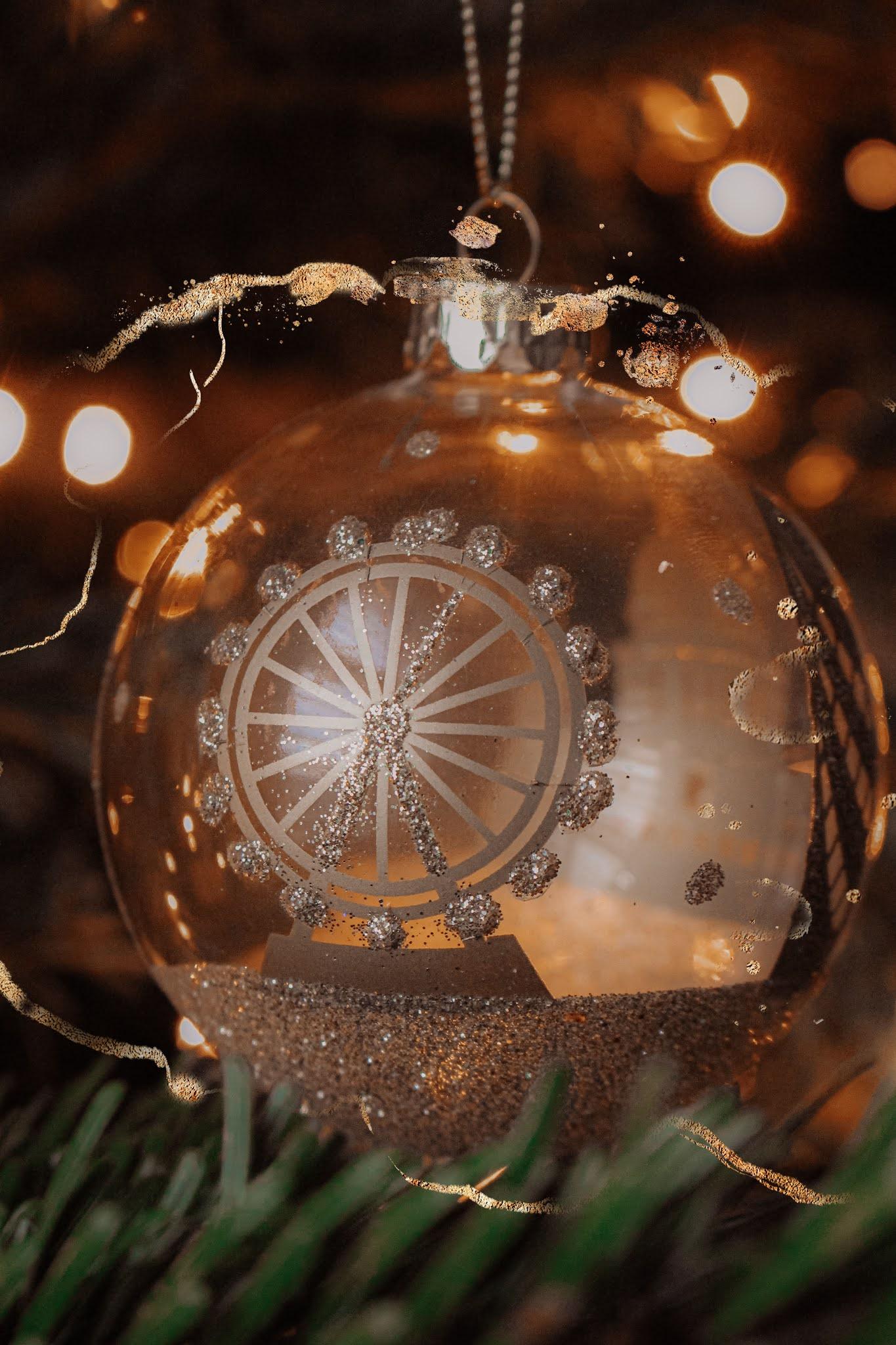 London Eye Christmas Bauble Decorations