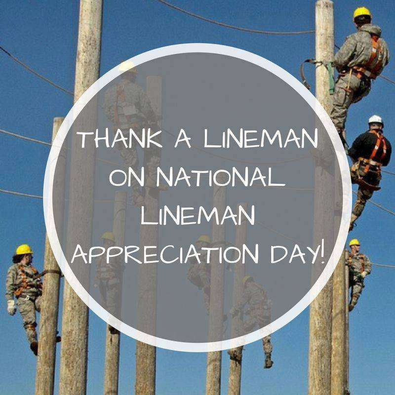National Lineman Appreciation Day Wishes Lovely Pics