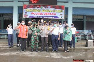 Launching Terminal Siaga Candi Dibuka Dandim Jepara Dan Kapolres Jepara