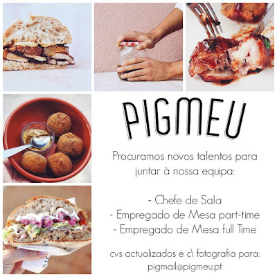 3 ofertas de emprego para Restaurante Pigmeu em Lisboa