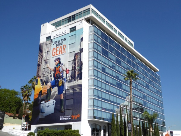 Giant Jon Glaser Loves Gear sereis premiere billboard