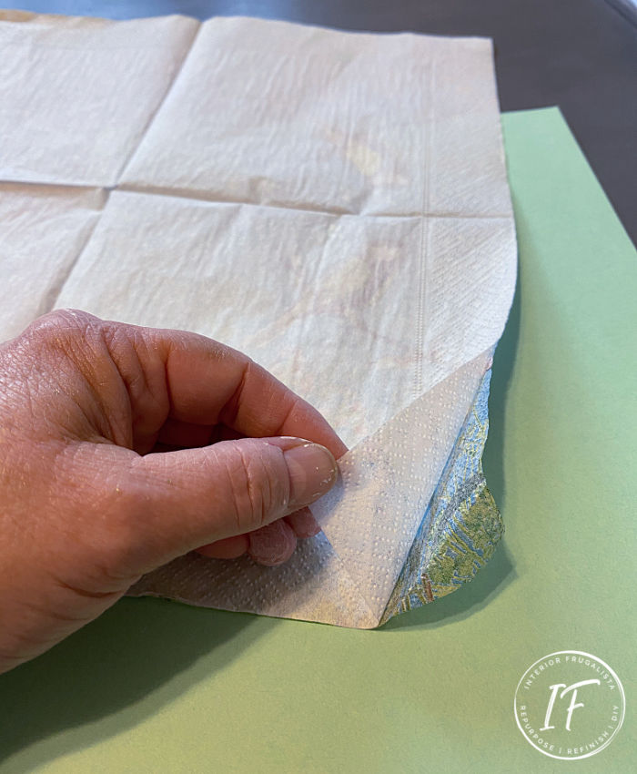 Tissue Paper Print Tutorial