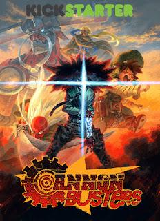 """Netflix emitirá la serie anime """"Cannon Busters"""" de LeSean Thomas"""