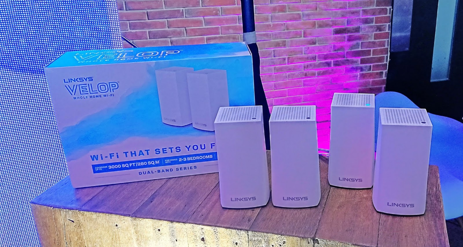 CONVERGE ICT adds LINKSYS Home Wi-Fi System to Fiber Plan