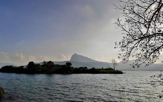 Pawna lake Island