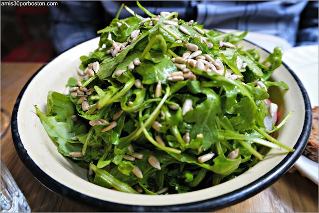 Sunflower Salad del Restaurante Ruso Mari Vanna en Nueva York