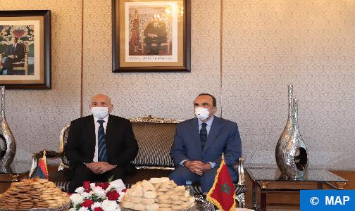 السيد عقيلة صالح يستعرض بالرباط آخر تطورات الوضع الليبي