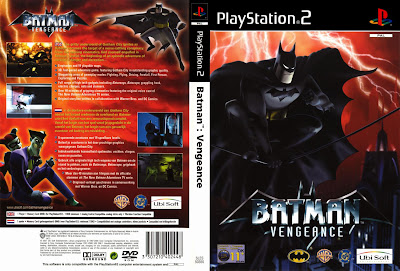 Batman Vengeance PS2 DVD Capa