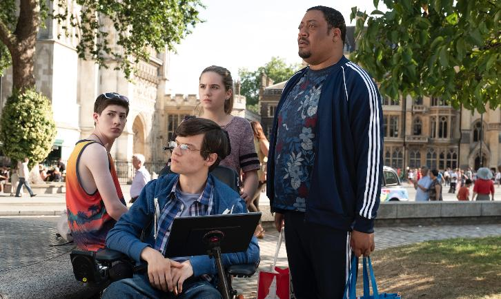 Speechless - Episode 3.02 - L-O-N-- LONDON Part Two - Promotional Photos + Press Release