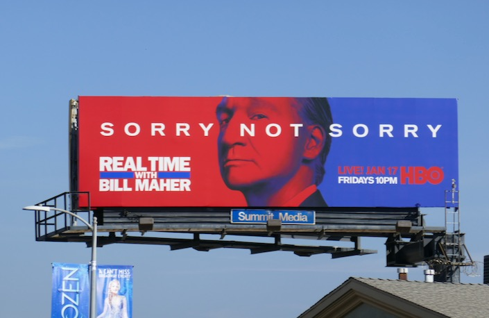 Real Time Bill Maher season 18 billboard