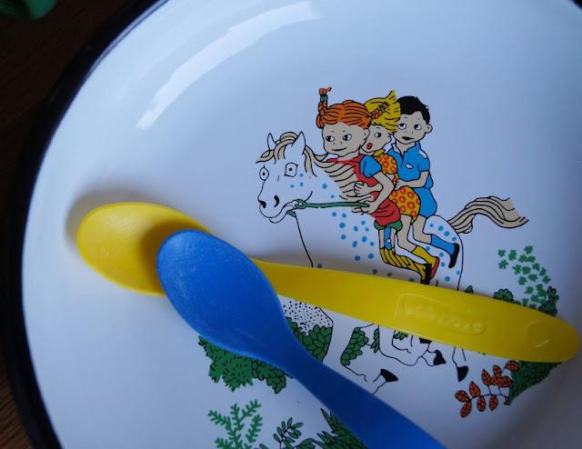 Ein Pippi-Langstrumpf-Teller