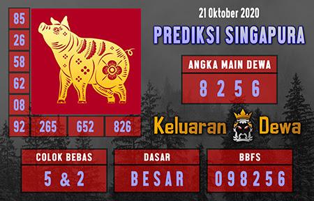 Keluaran Dewa SGP Rabu 21 Oktober 2020