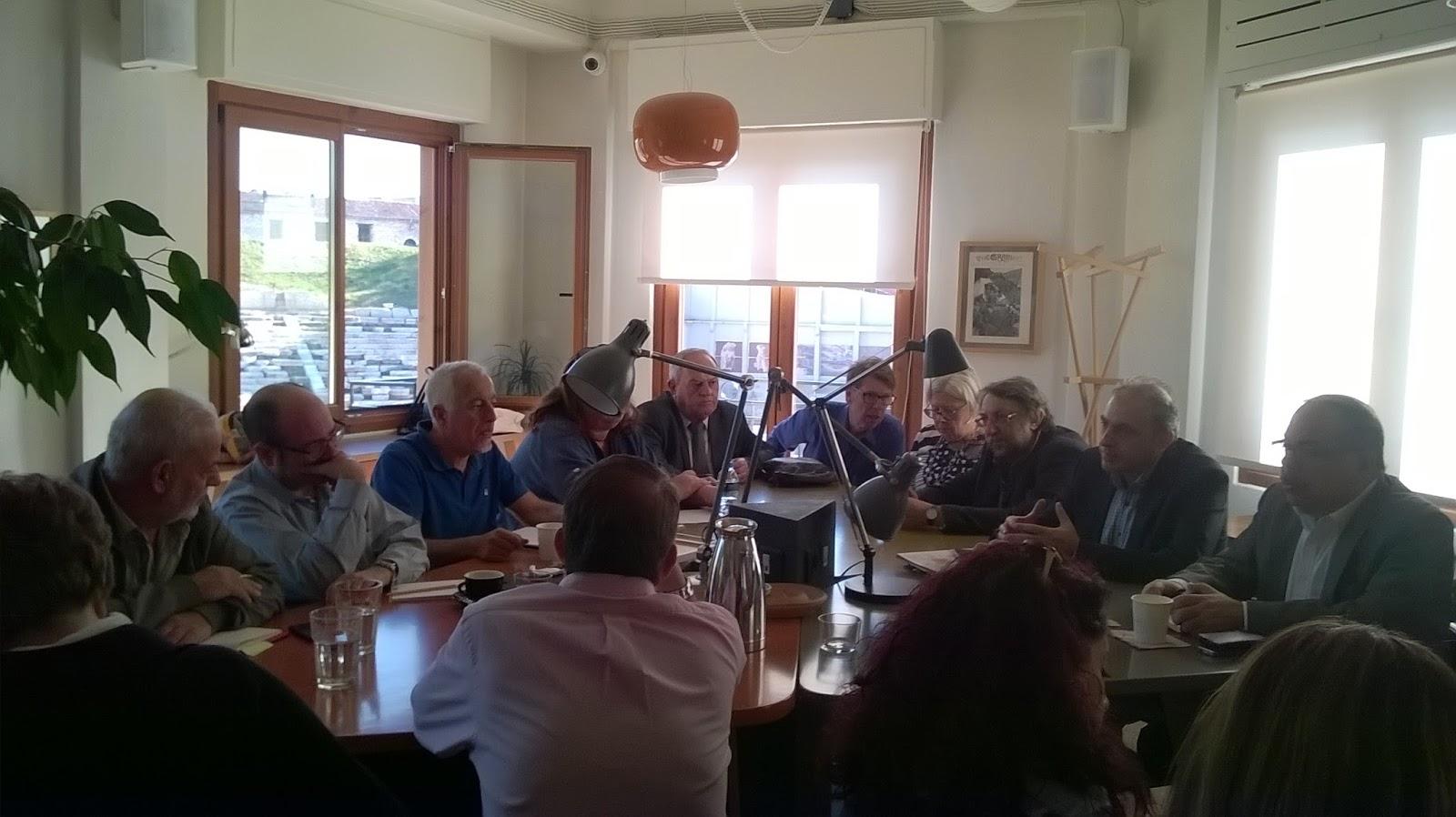 Πραγματοποιήθηκε η συνάντηση εργασίας στη Λάρισα για τη δικτύωση ελληνικών πόλεων που μετέχουν στις «Πόλεις που Μαθαίνουν»
