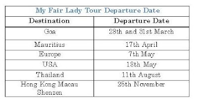 Experiences with Kesari Tours: My Fair Lady–The Most