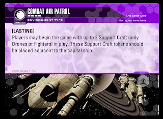 ENVIRONMENT card: Combat Air Patrol