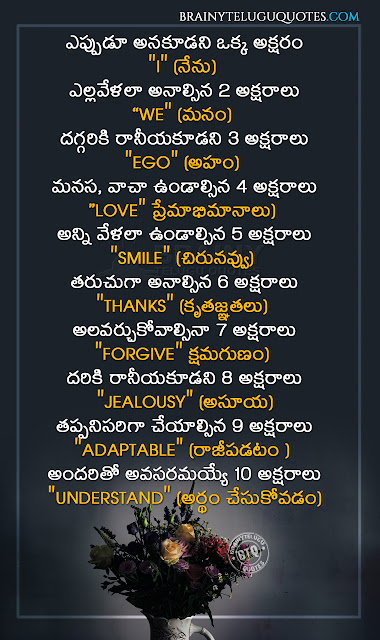 famous messages on success-best life changing thoughts in telugu, top telugu life changing messages