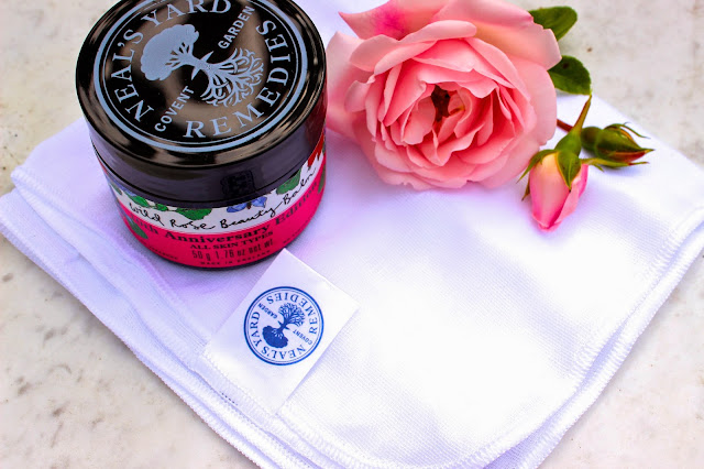 Neal's Yard Wild Rose Beauty Balm Blog Review