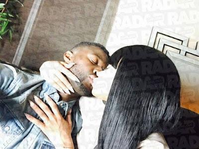 Radar Online release photos of Blac Chyna kissing Pilot Jones