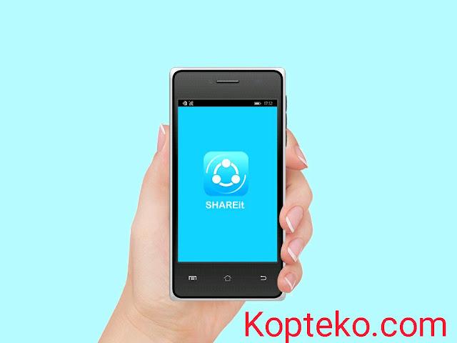 Cara mengirim aplikasi Share It lewat Bluetooth