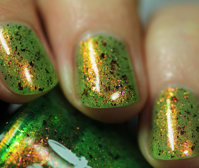Girly Bits And Gaia Wept swatch by Streets Ahead Style