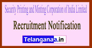 Security Printing and Minting Corporation of India Limited SPMCIL Recruitment Notification 201
