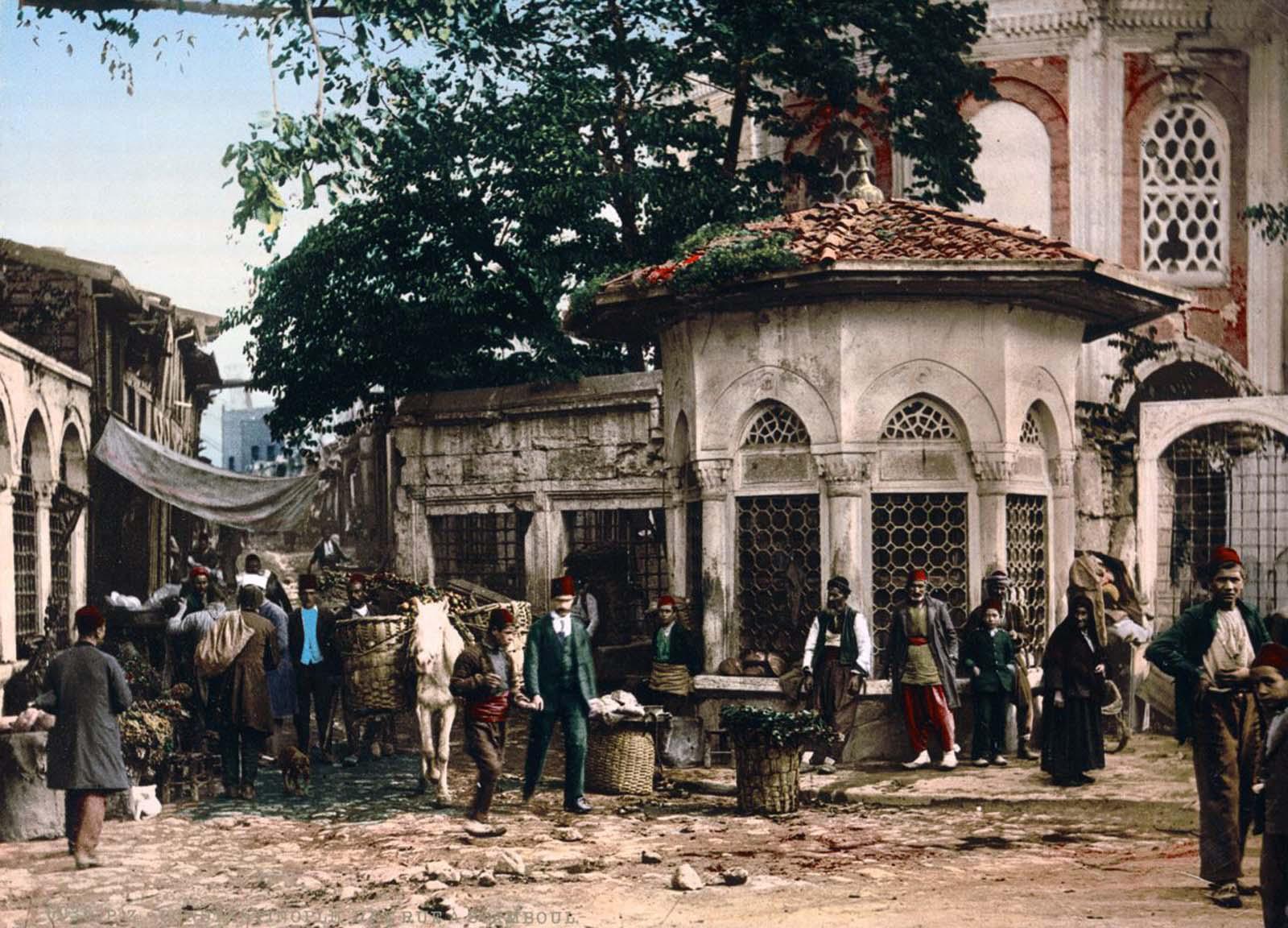 The Koca Sinan Pasha complex.