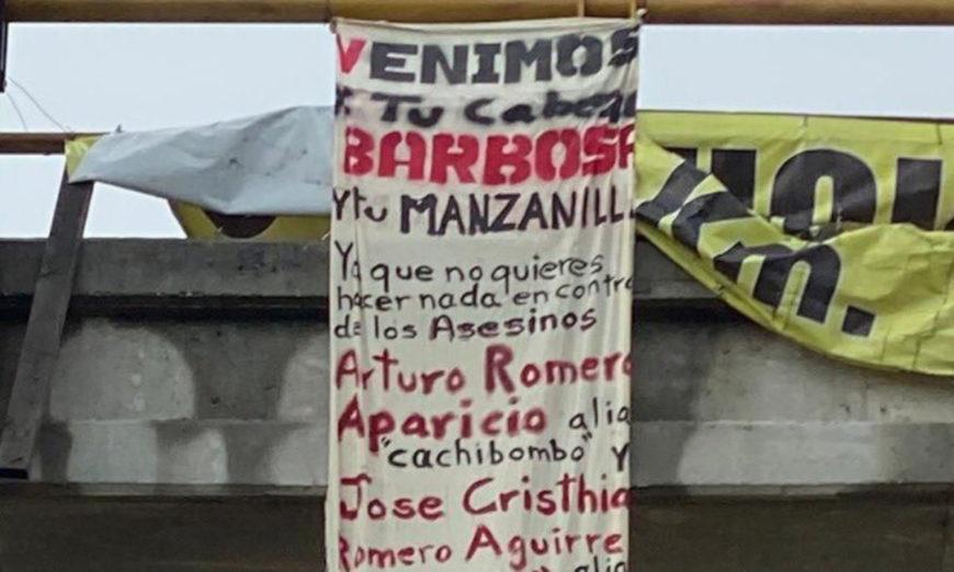 """""""Venimos por tu cabeza Barbosa y tu Manzanilla"""", La temible amenaza del grupo criminal """"Sangre Nueva Zeta"""" al gobernador de Puebla"""