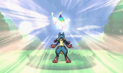 Pokémon XY Mega Lucario