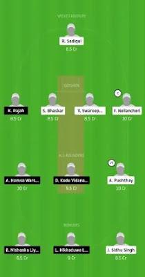 VCC vs HCC Dream11 team prediction | FPL 2020