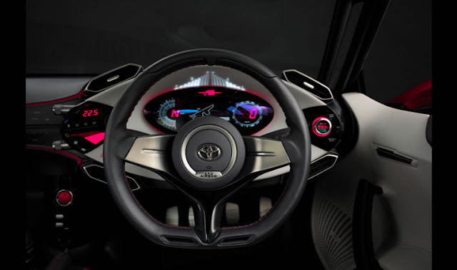 interior toyota FT86