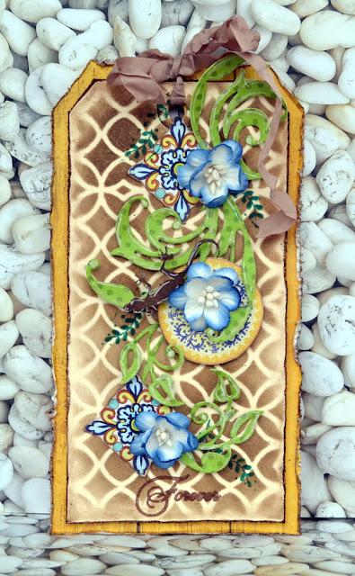 General Tag by Denise van Deventer using ScrapBerry's Mediterranean Dreams