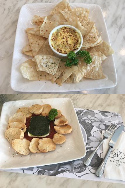 Relish Café appetizer
