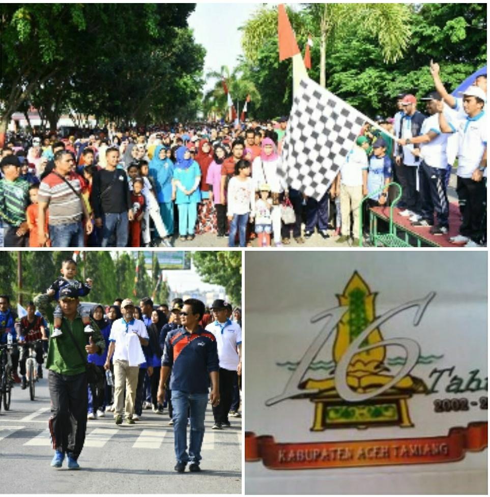Ragam Kegiatan Mewarnai Ultah Kabupaten Aceh Tamiang Yang Ke 16