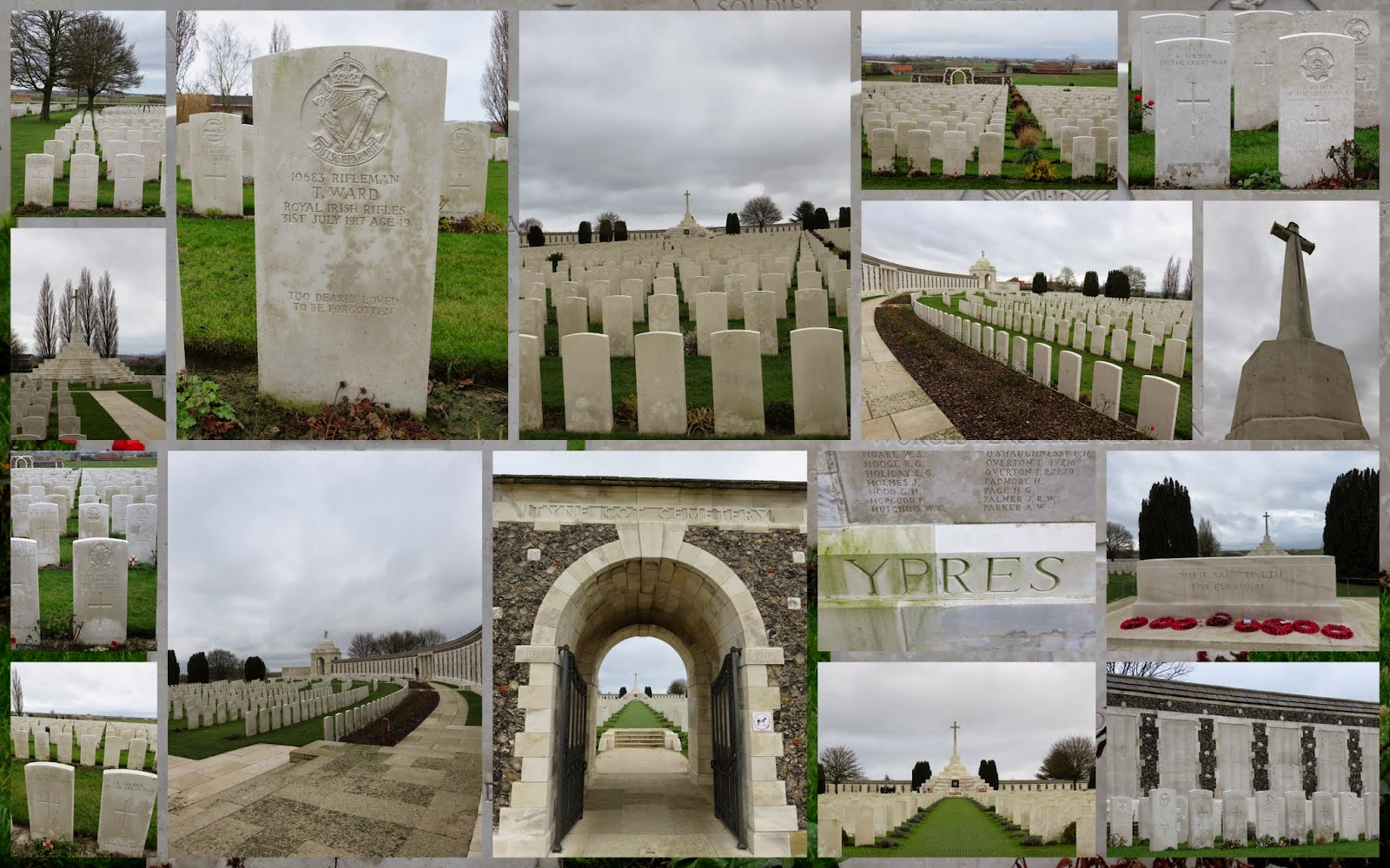 Tyne Cot Cemetery - Flanders Fields