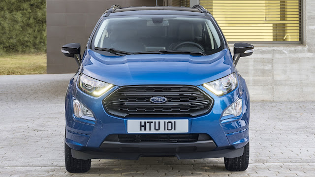 New 2017 Ford EcoSport front look Hd image 01